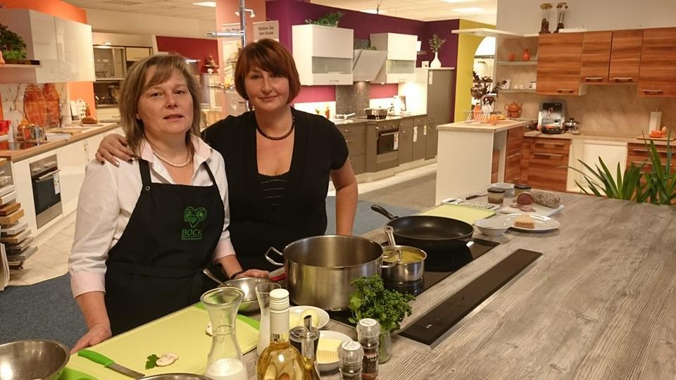 Sandra und Ute kochen